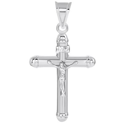 inri gold cross pendant