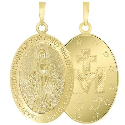 The virgin mary pendant
