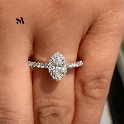 marquise halo ring | marquise halo diamond ring