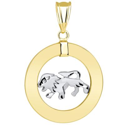Leo Horoscope Medallion