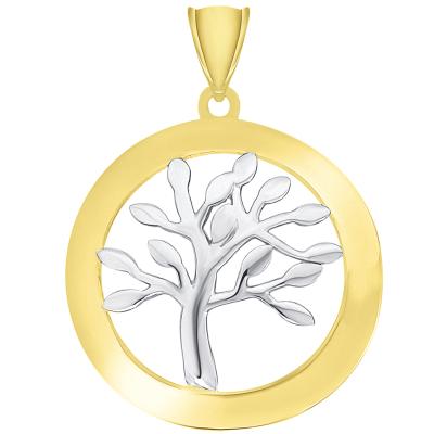 tree of life pendant gold
