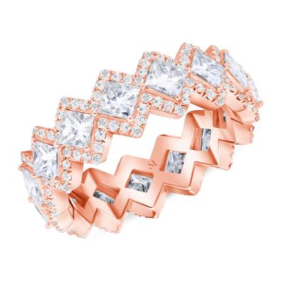 princess crown rings white gold | princess crown engagement ring