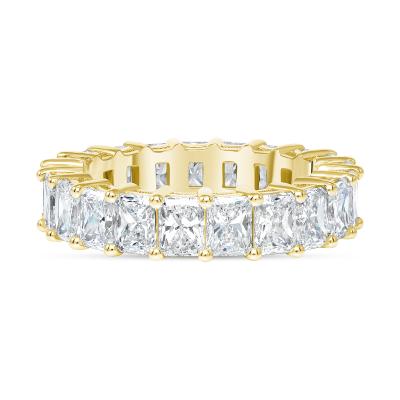 radiant diamond ring gold