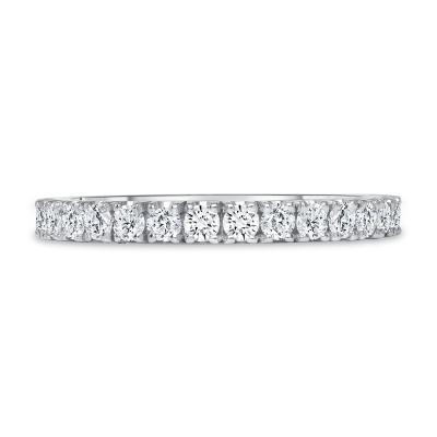 classic diamond ring white gold