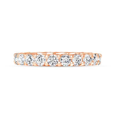 unique diamond wedding ring rose gold