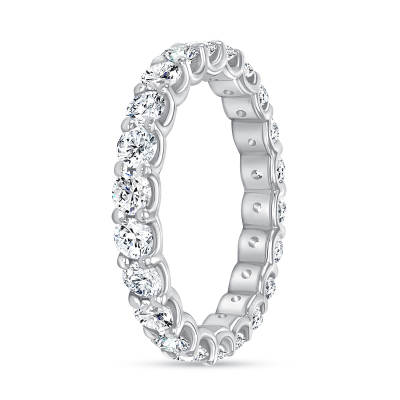 unique diamond wedding ring white gold