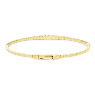 gold diamond bangles | white gold diamond bangles