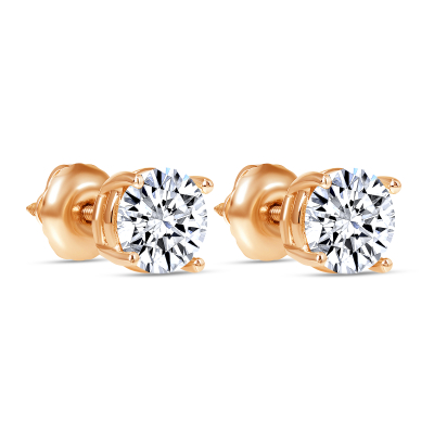 2 carat diamond stud earring | diamond stud earrings 2 carat