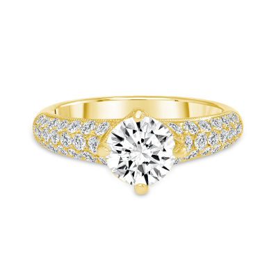 1.65 carat diamond ring gold