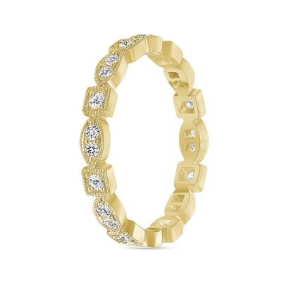 fancy wedding ring gold