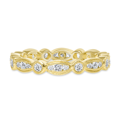 antique diamond wedding ring gold