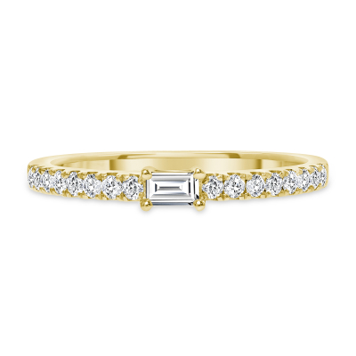 white gold baguette diamond ring | baguette diamond ring band