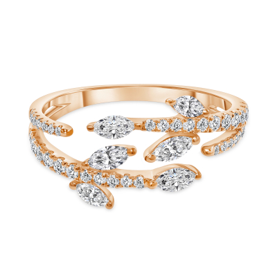 modern marquise diamond wedding ring |  marquise diamond wedding ring in 14k white gold