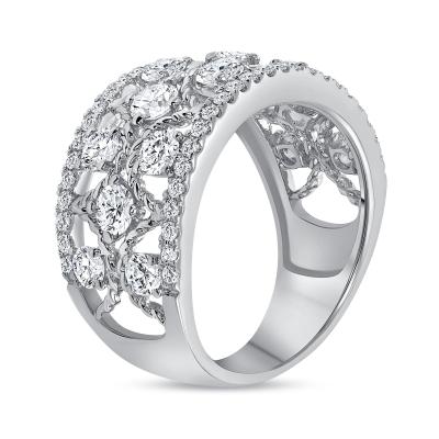 diamond fashion rings white gold