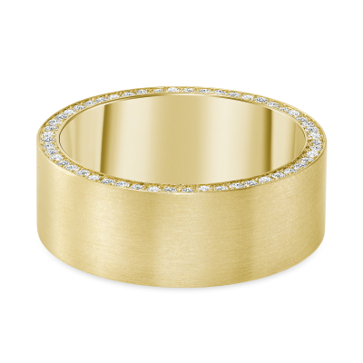 plain diamond band | round diamond plain band