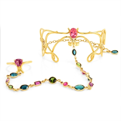 Tourmaline Sonnet Dancing Bracelet