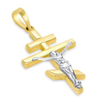 russian orthodox cross crucifix pendant