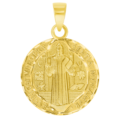 Benedict Medallion Charm Pendant