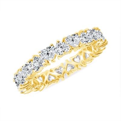 Heart you for eternity band gold