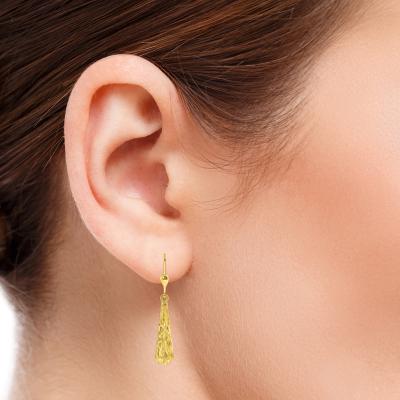 Teardrop Dangle Drop Earrings