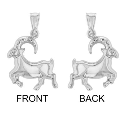 Sea-Goat Animal Pendant