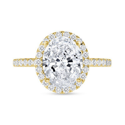 small halo engagement ring gold