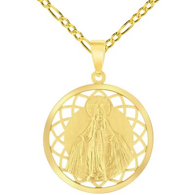 gold virgin mary chain