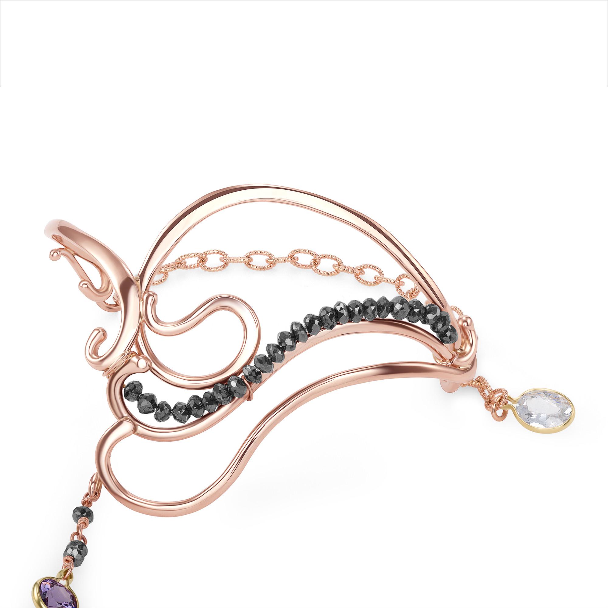 Nouveau Rose Dancing Bracelet