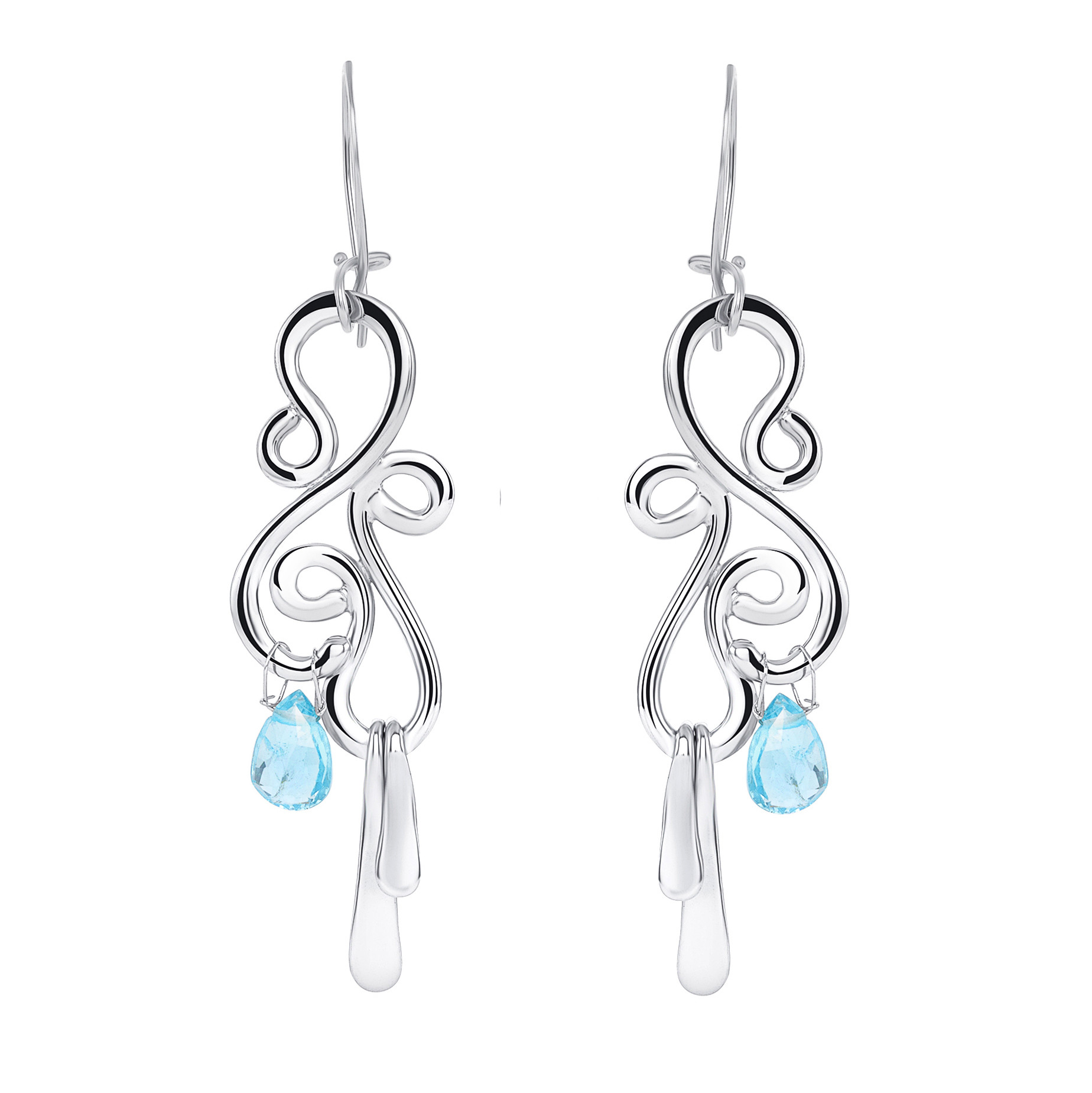Apatite Dancer Earrings