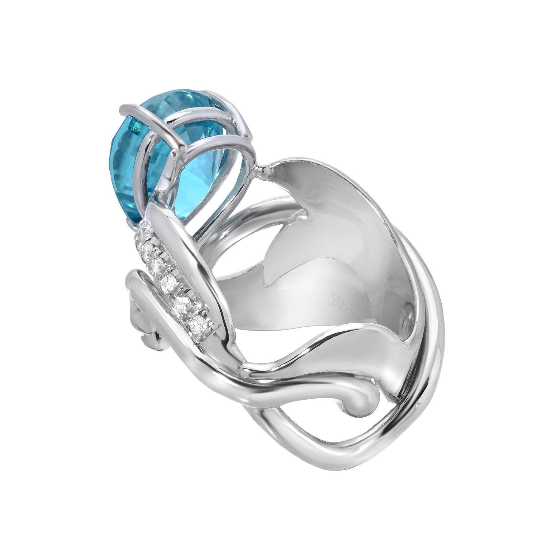 Blue Iris Ring
