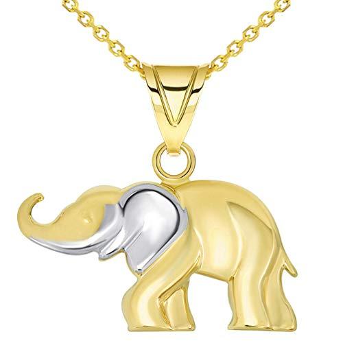 14 Karat Gold Elephant Jewelry