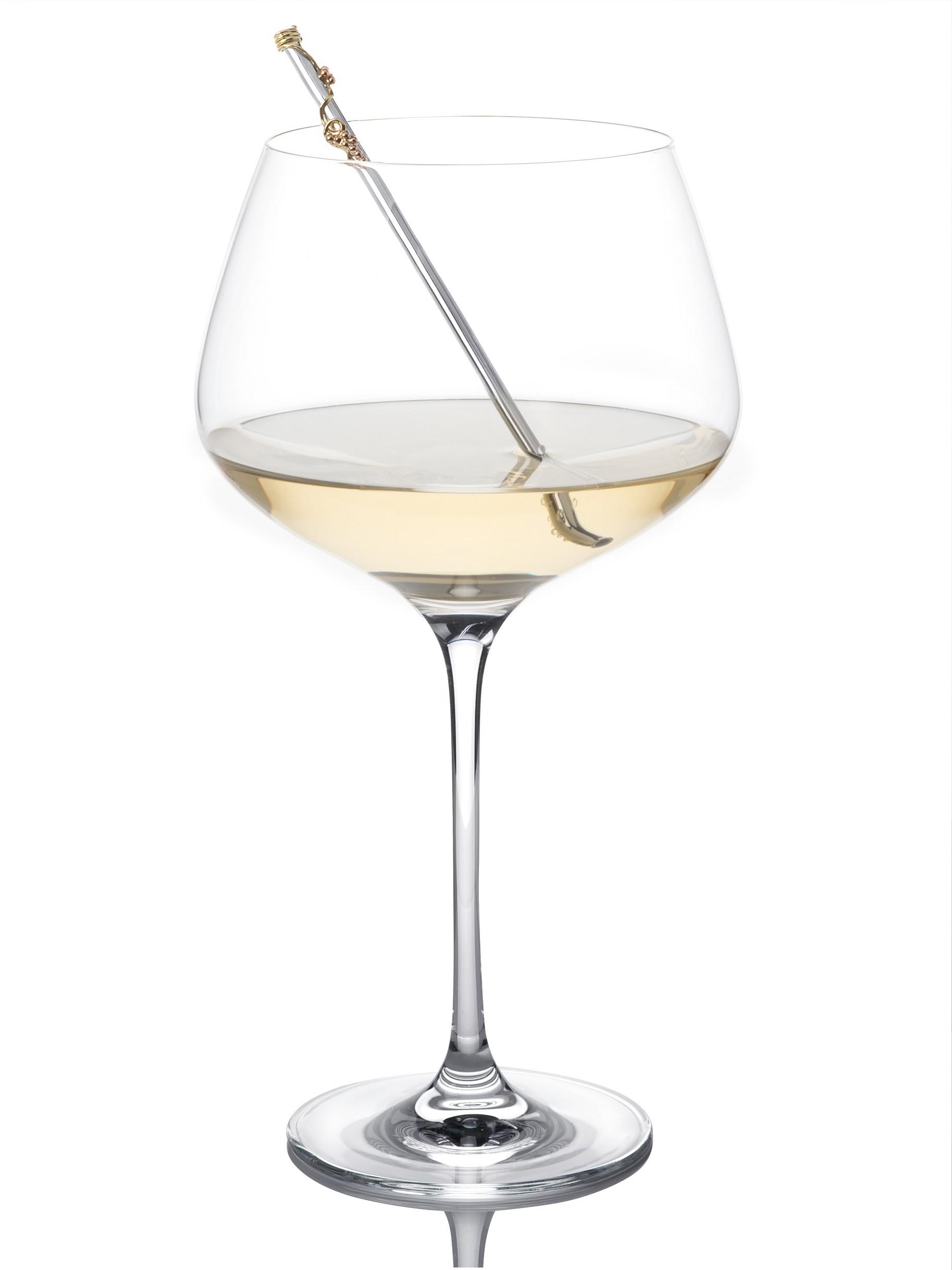 wine straw