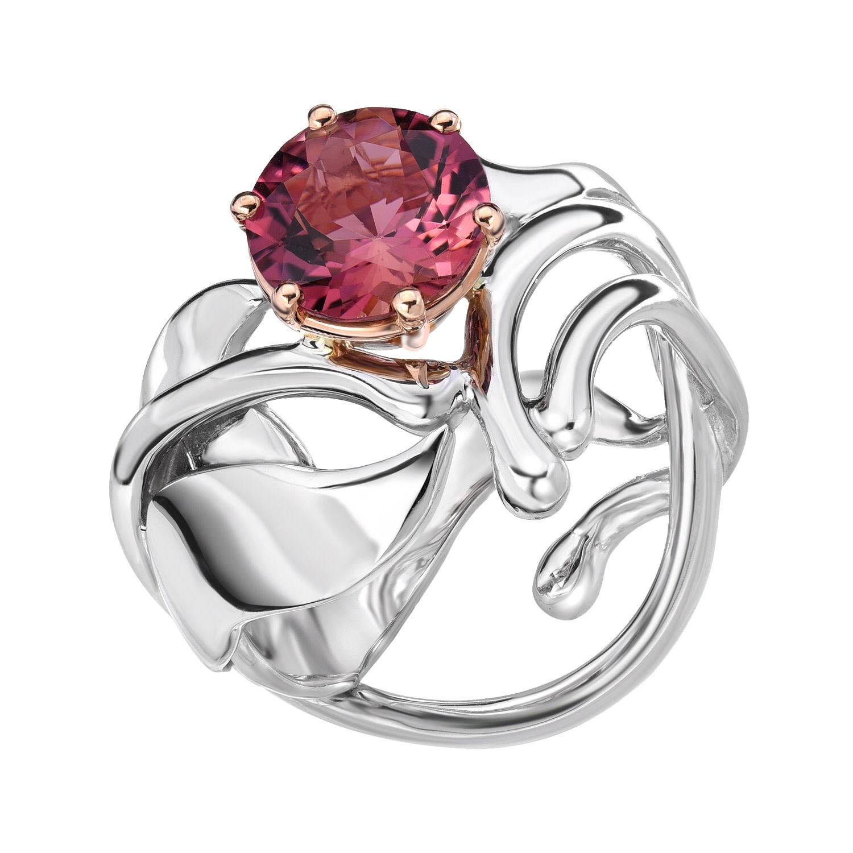 Pink Iris Ring