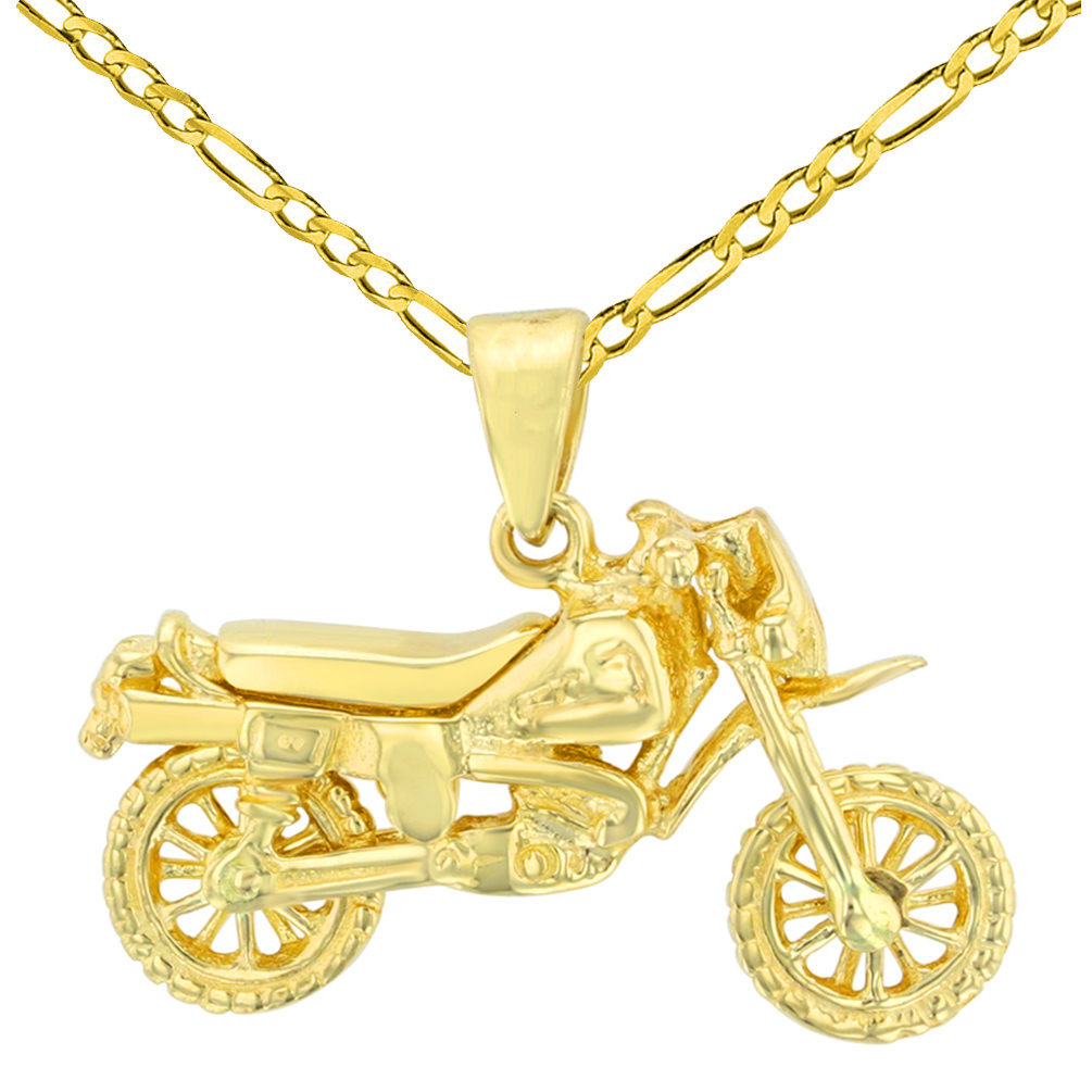 14K Yellow Gold Helicopter with Motion Propeller