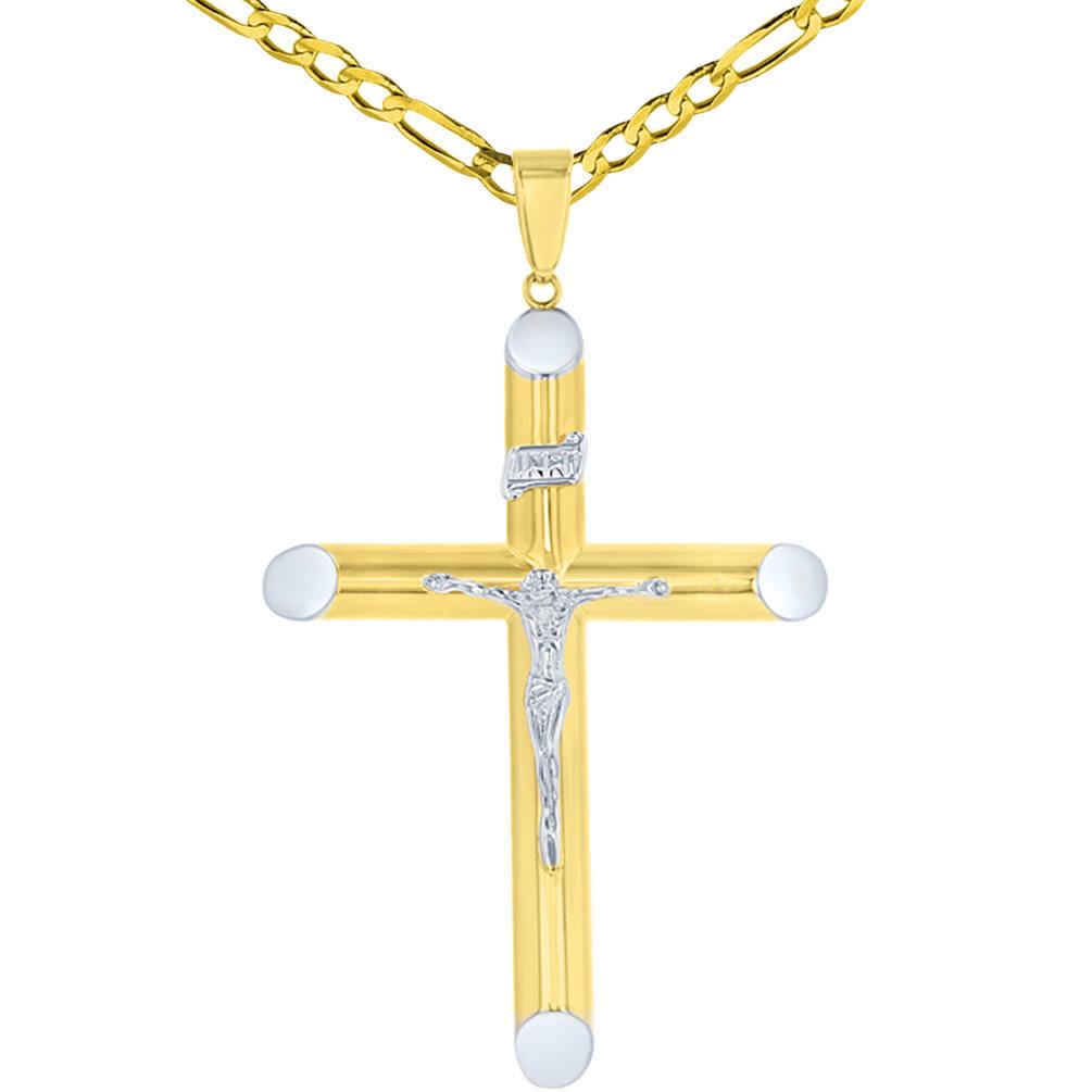 inri cross pendant