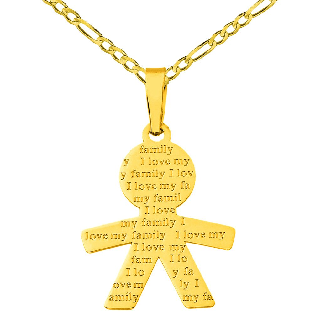 boy charm pendant