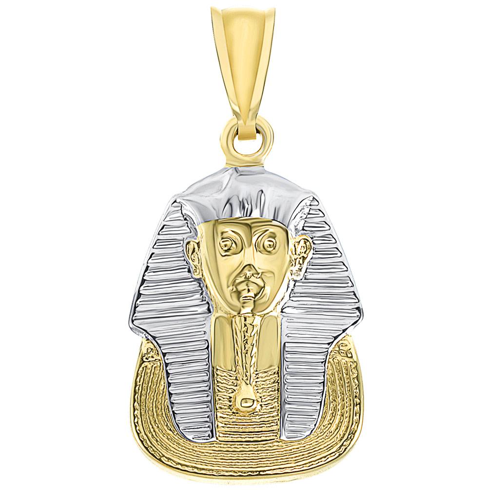 14k gold pharaoh pendant
