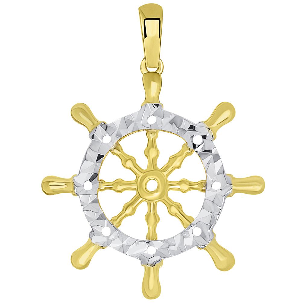 Ship wheel religious symbol