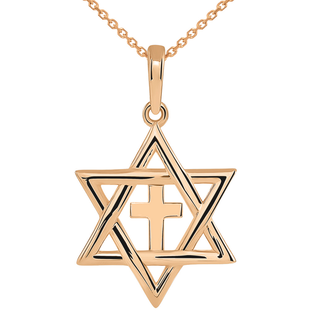 Jewish Star of David Pendant