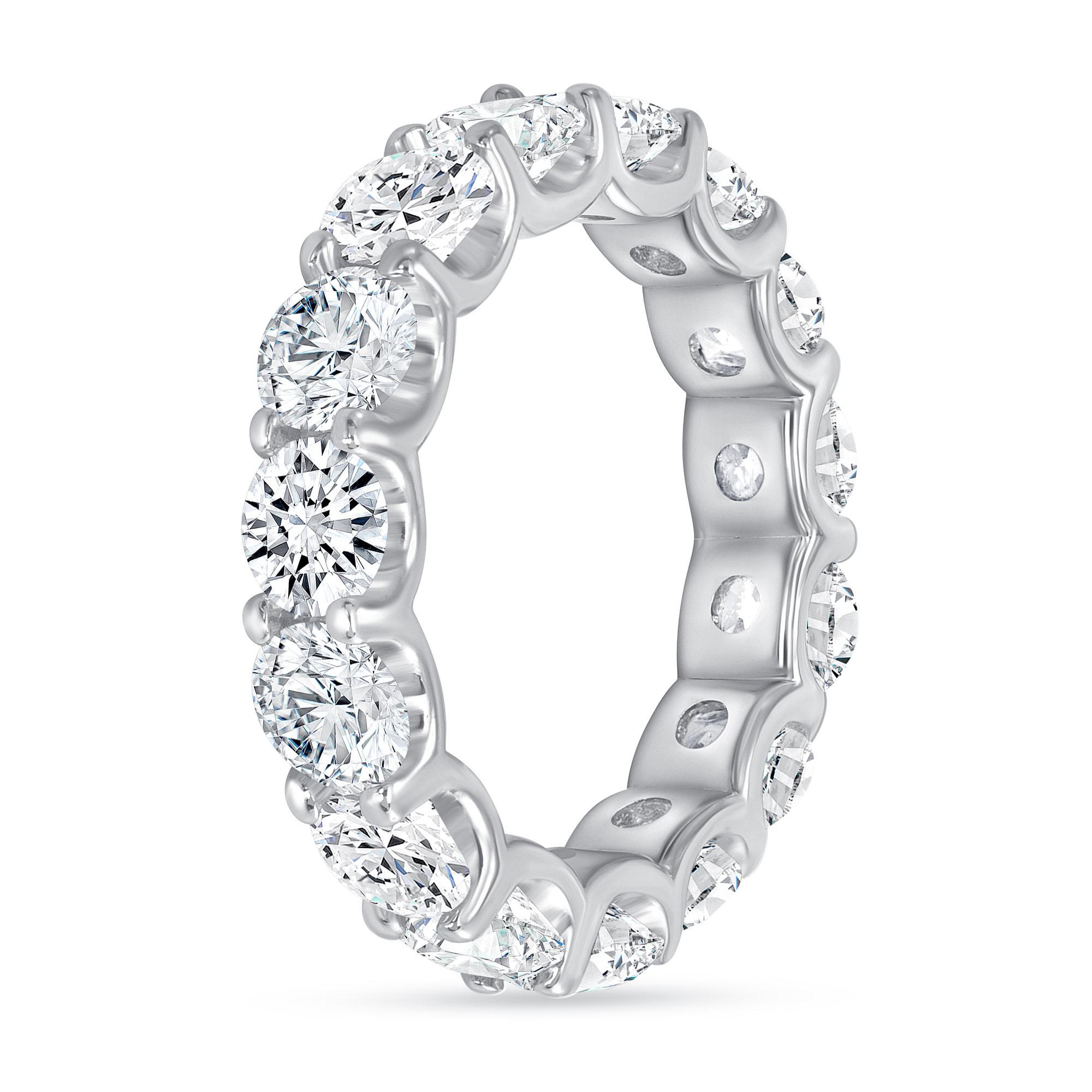 diamond stackable wedding ring white gold
