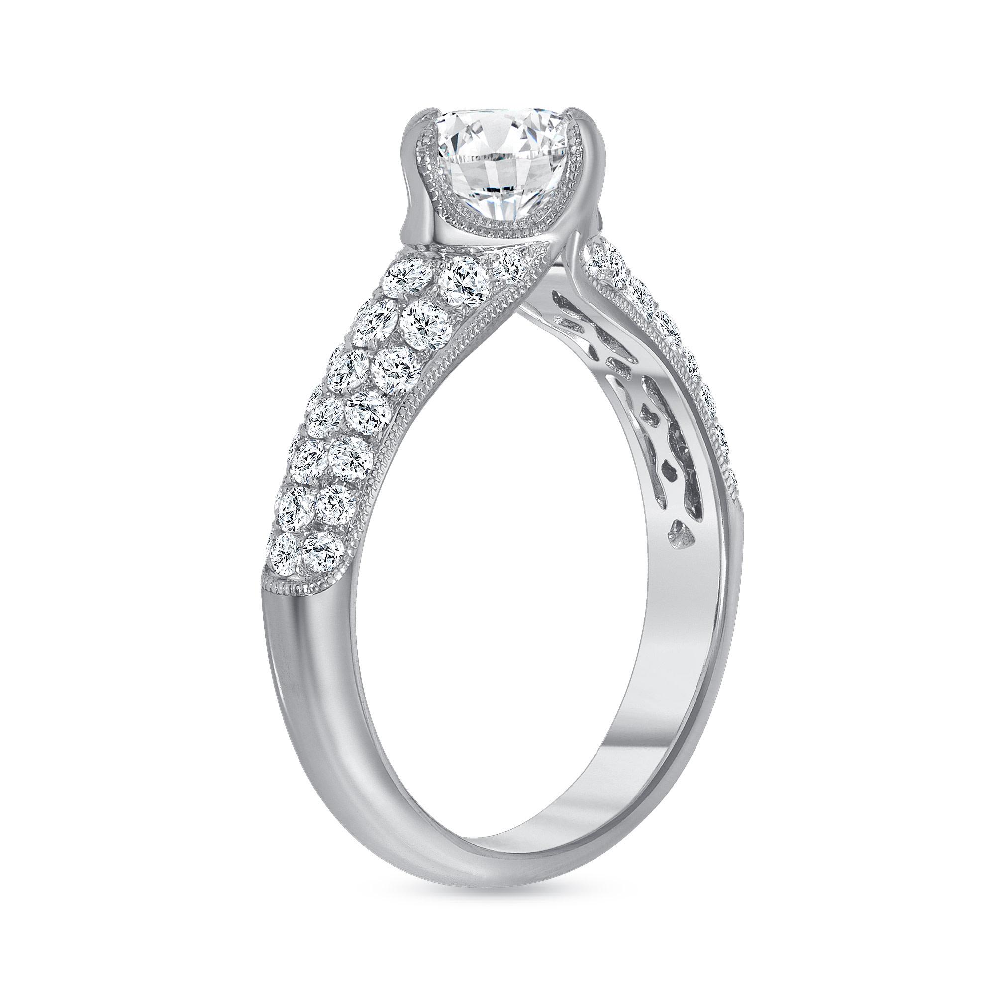 1.65 carat diamond ring white gold