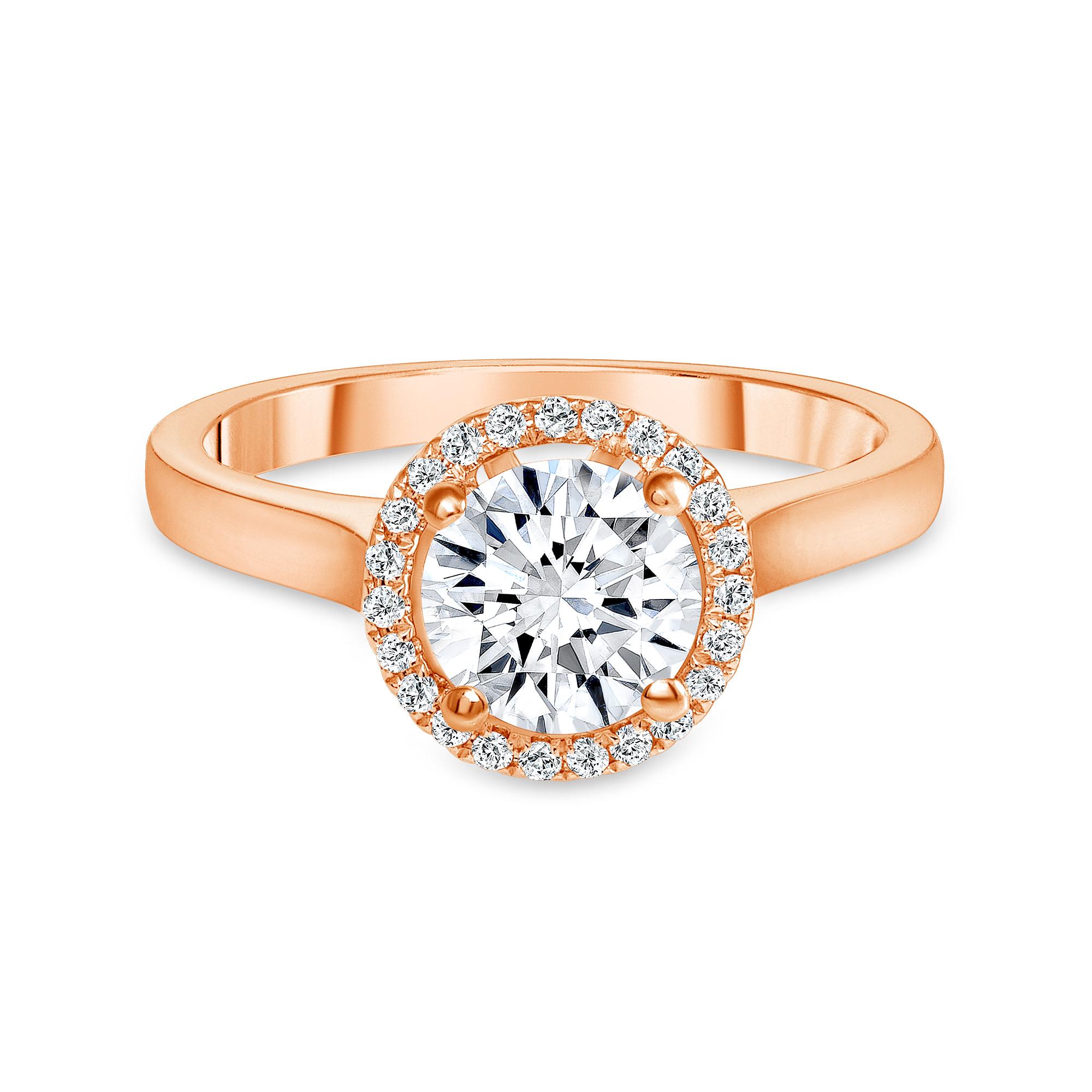 14 kt gold diamond ring | 14k diamond ring white gold