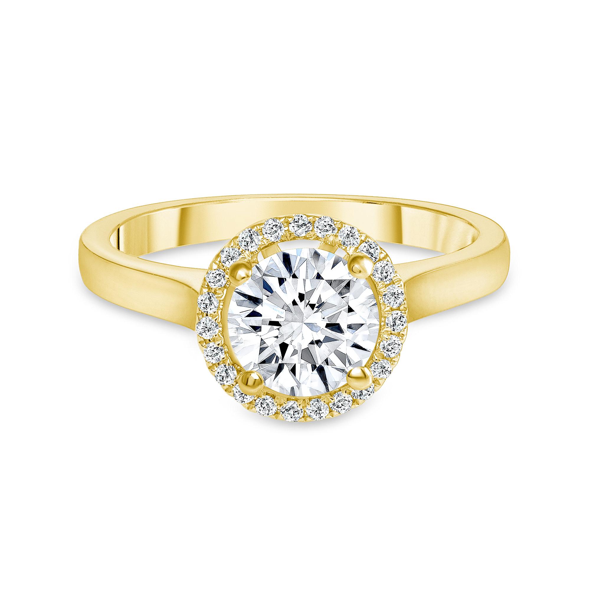 14k diamond ring white gold | 1 ct diamond engagement ring 14k white gold