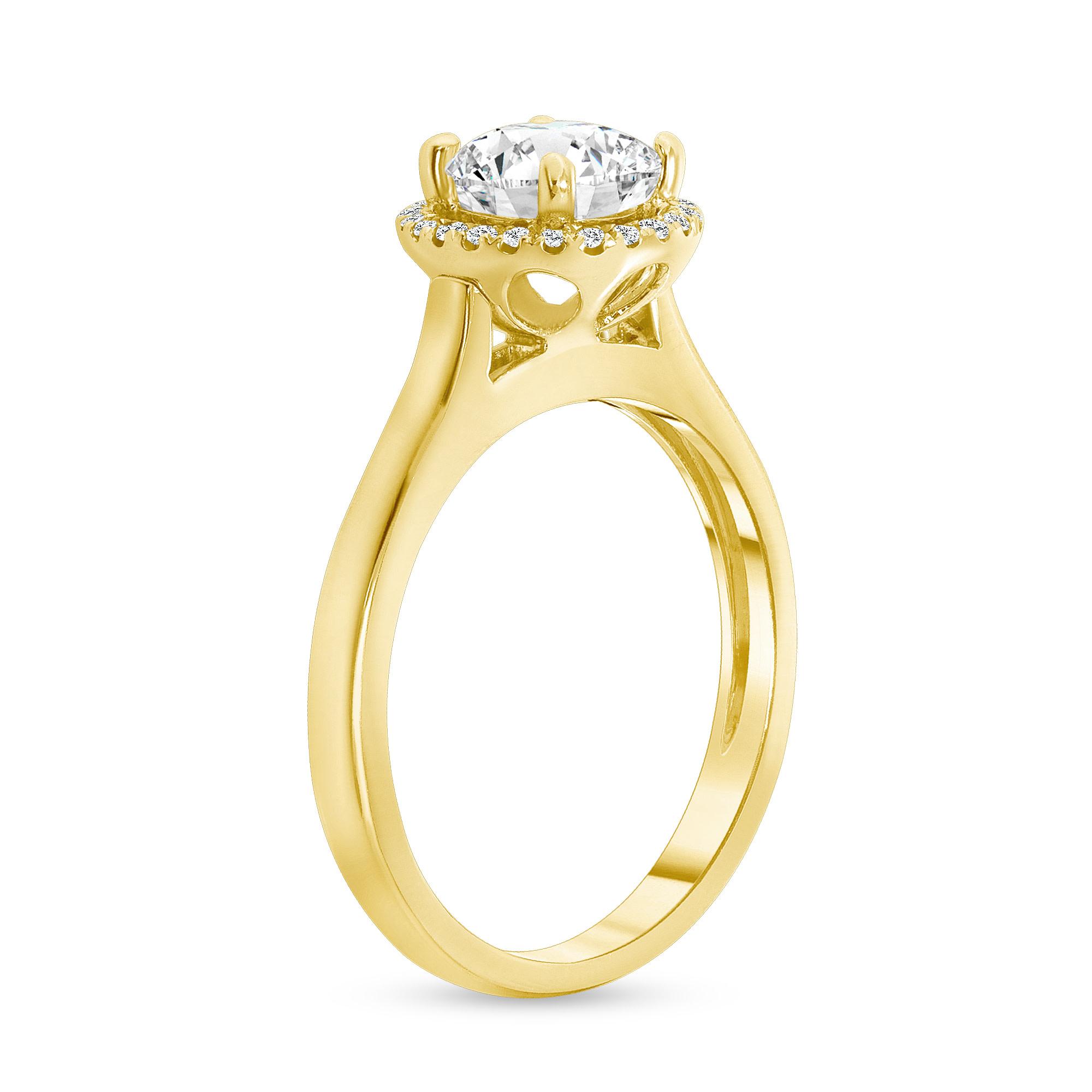 14k diamond engagement ring  | 1 ct diamond engagement ring 14k white gold