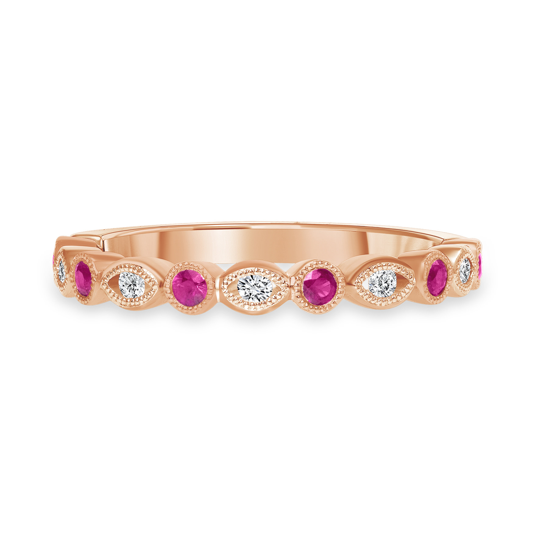 diamond ruby ring | gold diamond ruby ring | women's diamond ruby ring