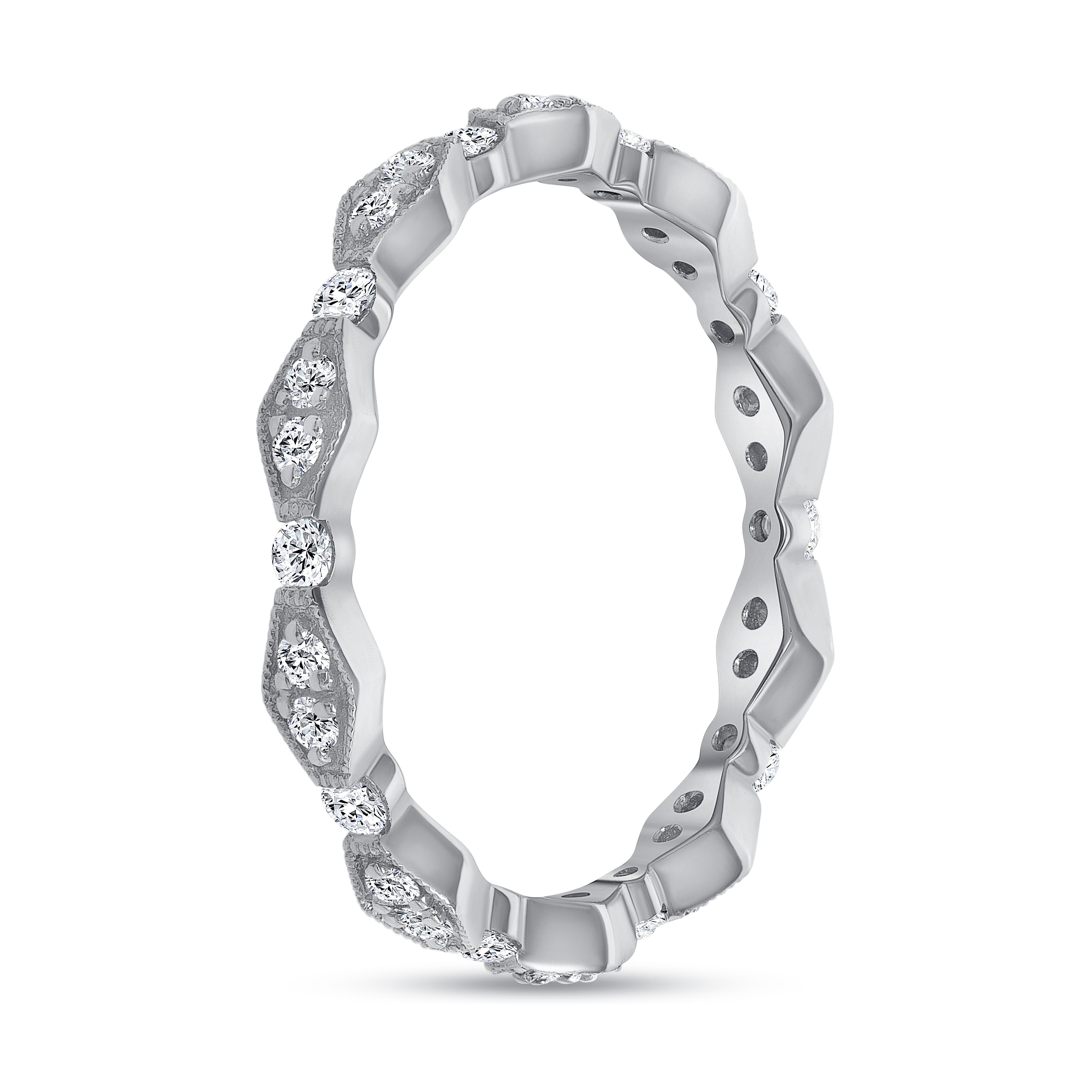 vintage style diamond wedding ring | vintage diamond wedding ring