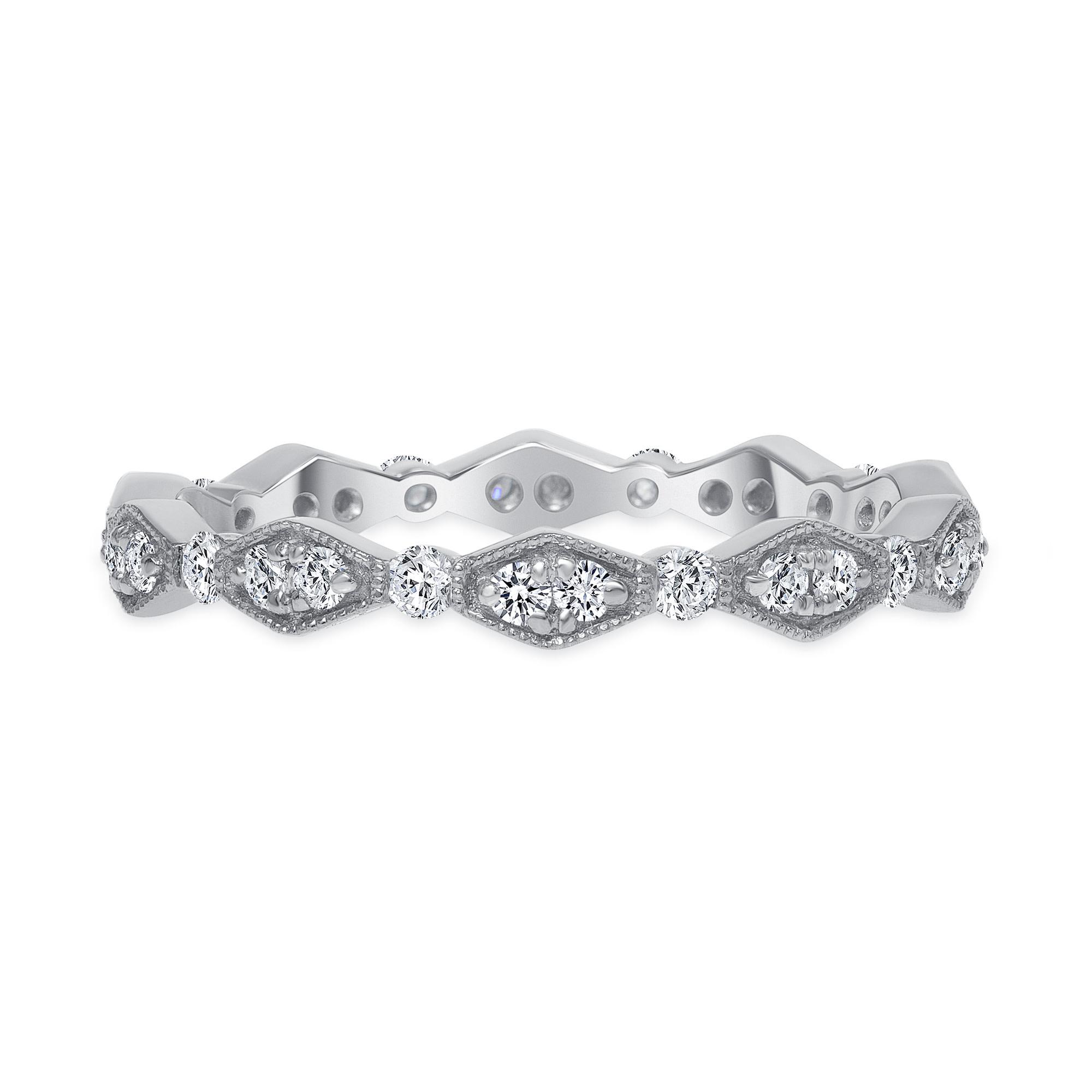 vintage diamond ring | rose gold vintage diamond ring