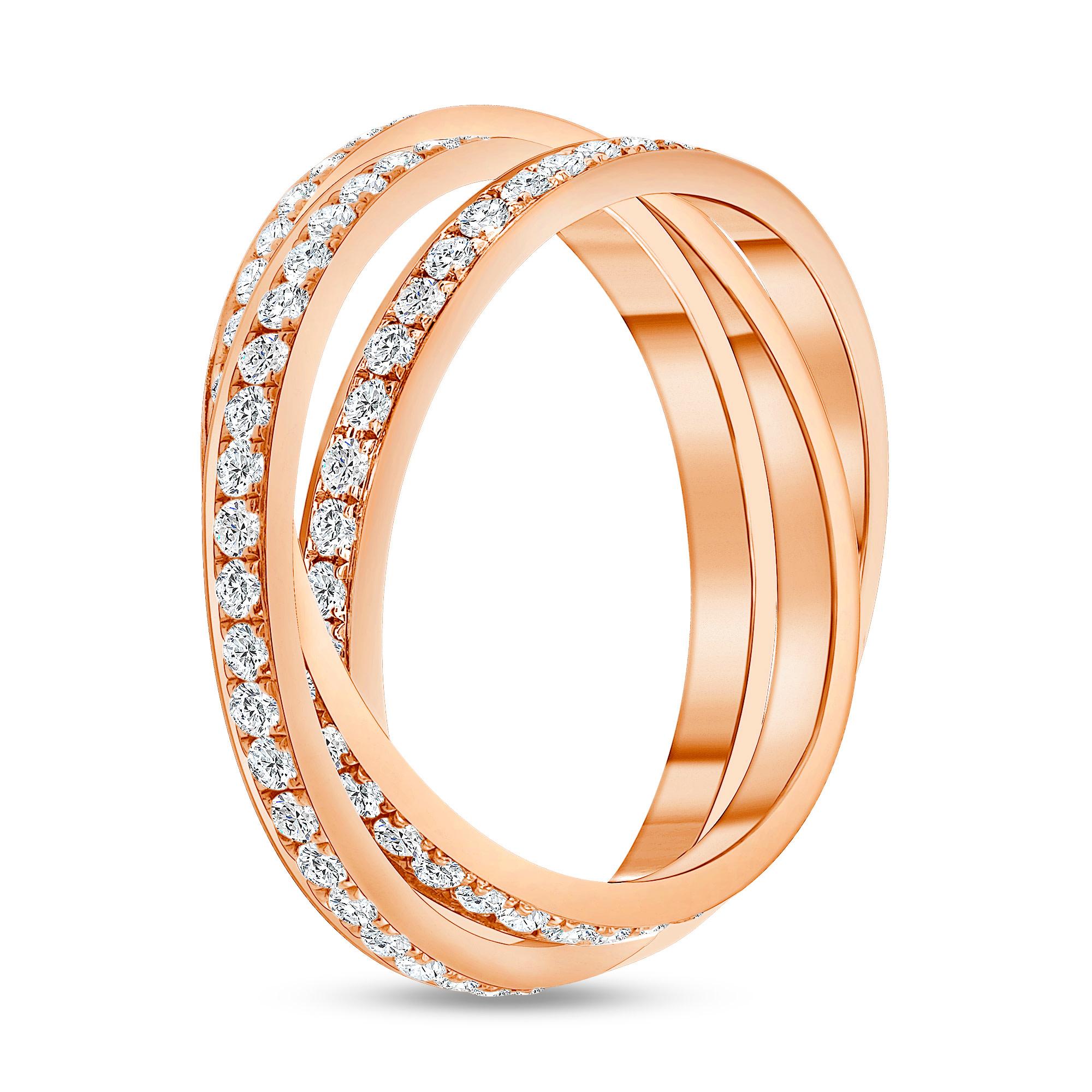 diamond wrap wedding ring