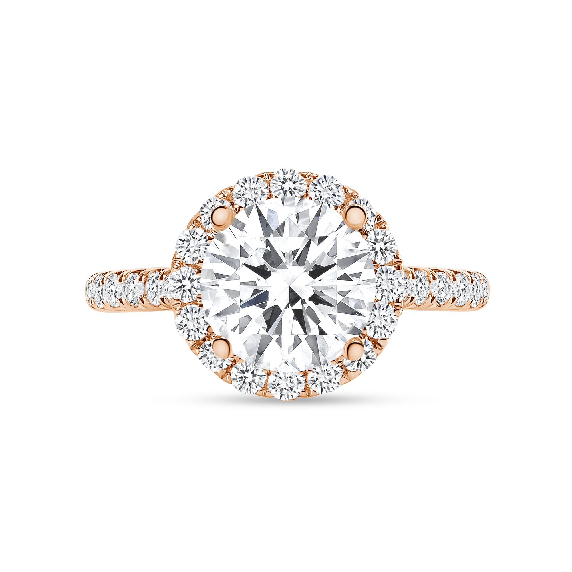 1.5 carat round diamond engagement ring