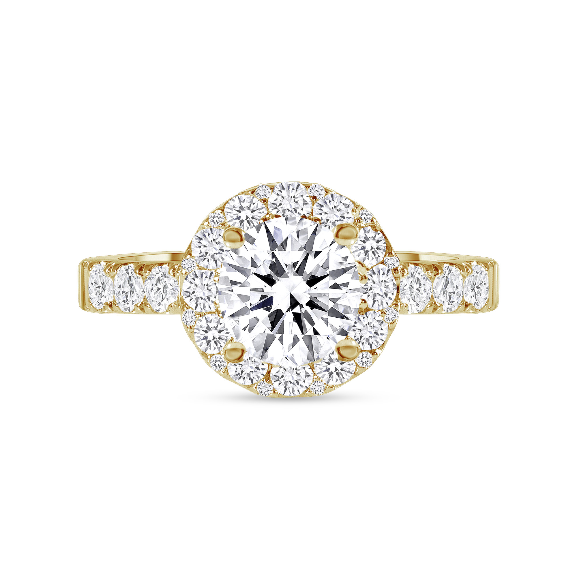 stackable engagement ring